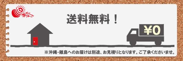 送料無料!※沖縄・離島へのお届けは別途、お見積りとなります。ご了承くださいませ。